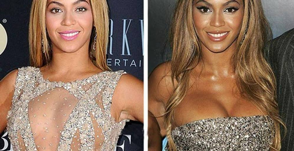 Beyoncé Before and After